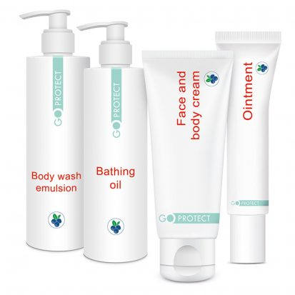 OmegaBerry DermoLine - Emollient line of cosmetics based on unique ingredients